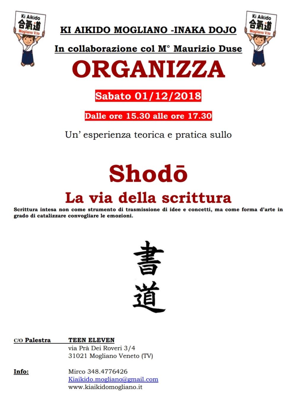 evento shodo scrittura giapponese